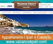 Vacanze Lipari Appartamenti a Lipari e Canneto - Is. Eolie tel. 090.9811009