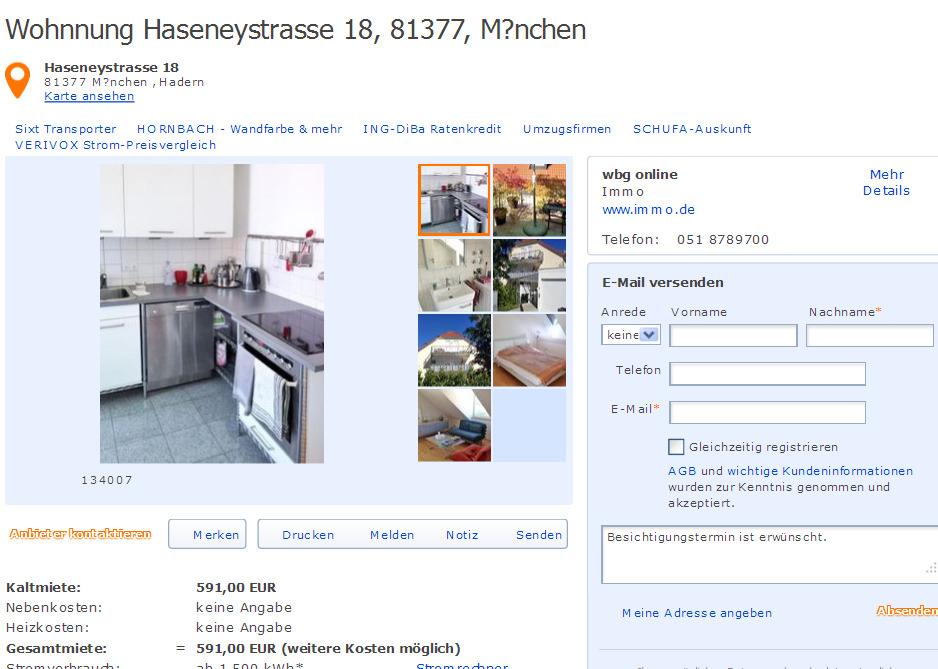 K Chenstudio M Nchen reisachstrasse 3 81545 münchen gegen wohnungsbetrug against rental scammers