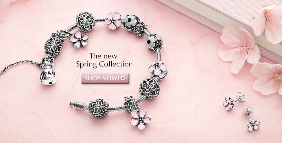 Pandora Silver Flower Ring