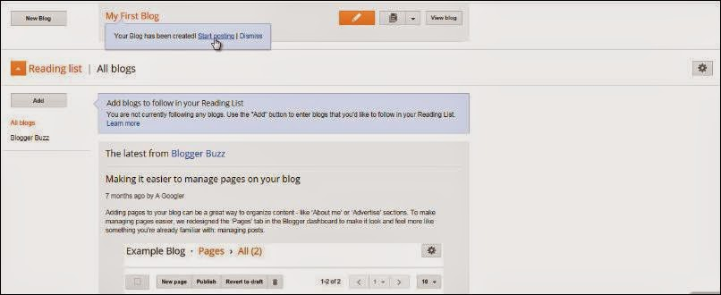 How To Make A Blog On Blogger.com - Creat New Blog - Start Posting