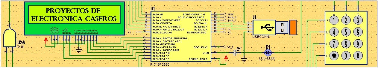 Proyectos de electrónica caseros