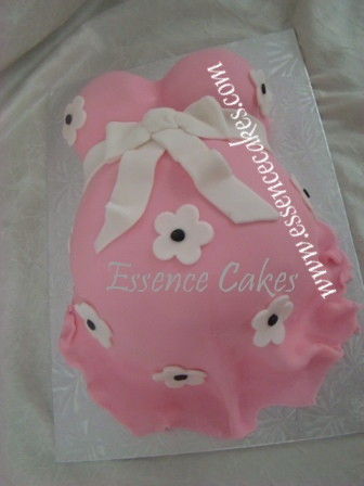 essence of cakes belly cake for a baby shower