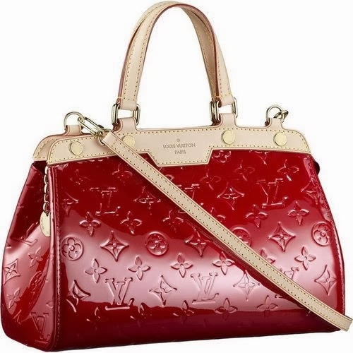 Very Beautiful Red Plus Cream Handbag For Ladies