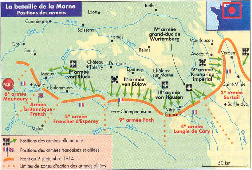 14 18 le blog de daniel saillant ren thauvin caporal for Plan de la marne 51