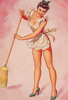 sexist vintage housework ad