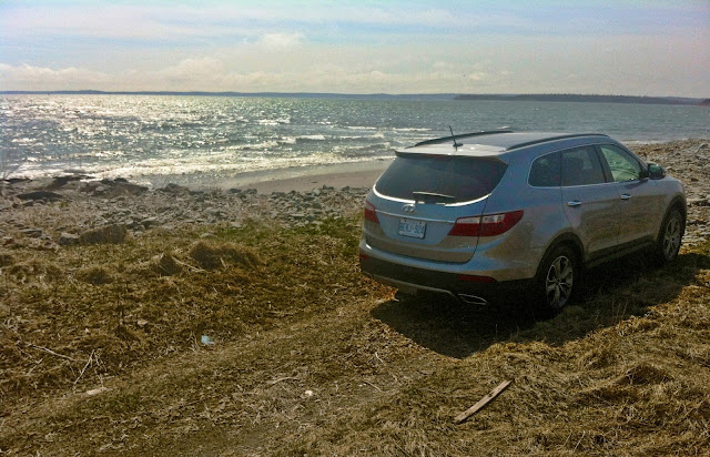 2013 Hyundai Santa Fe XL rear view Nova Scotia bech