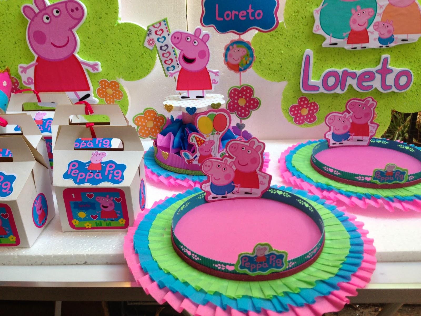 Decoracin de fiestas infantiles de peppa decoraciones for Decoraciones infantiles