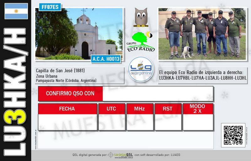 QSL Activación Capilla de San José