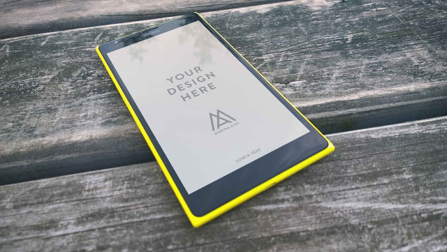 Lumia 1520 Mockups PSD