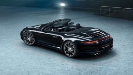 Porsche 911 Black Edition cabrio