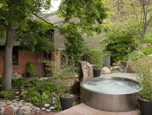 la maison boheme stock tank pool. Black Bedroom Furniture Sets. Home Design Ideas