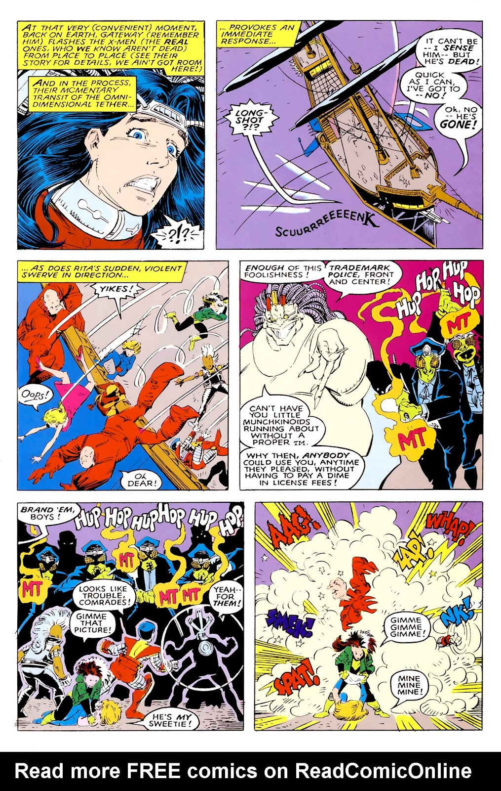Read online X-Babies comic -  Issue #1 - 36