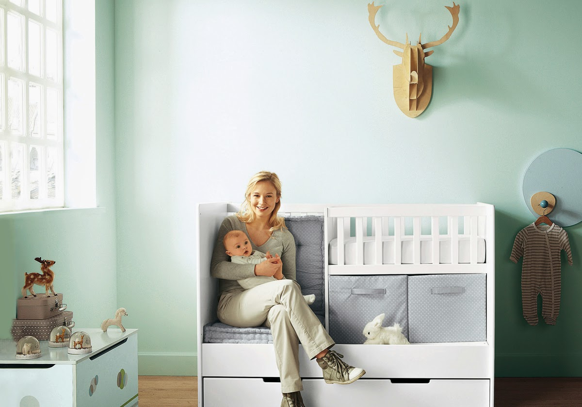 Amazing Design Of Nursery Colors Cool Blue