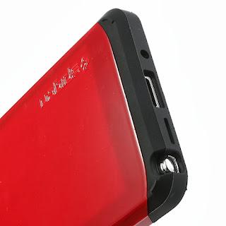 Slim Armor Case for Samsung Galaxy Note 3 N9000 N9002 N9005 - Red