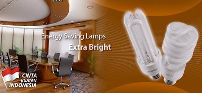 Harga bahan bangunan Lampu Hori hemat energi 2013