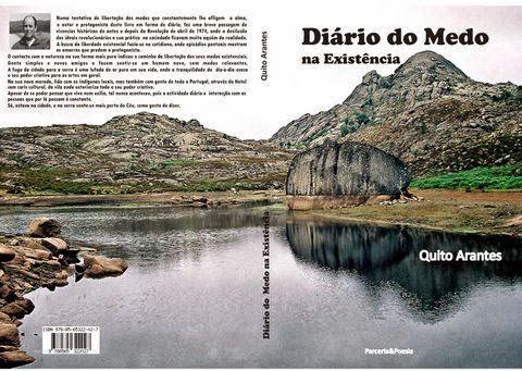Lançamento Selo Parceria & Poesia Brasil Portugal:Diario do Medo na Existência de Quito Arantes