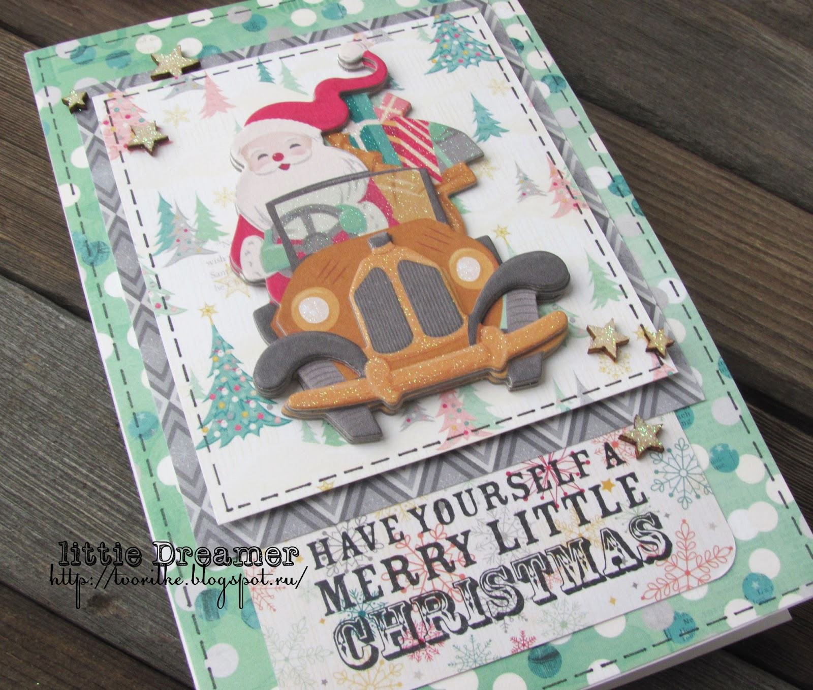 новый год, рождество, подарки, своими руками, ручная работа, скрапбукинг, открытка