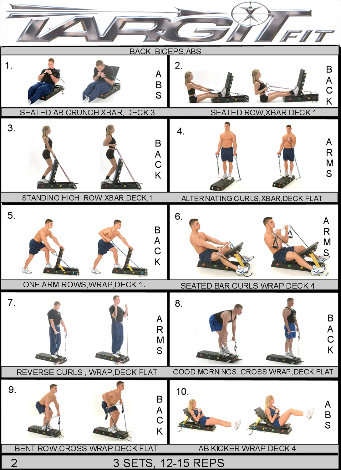 Fitness: WORKOUT PLANS