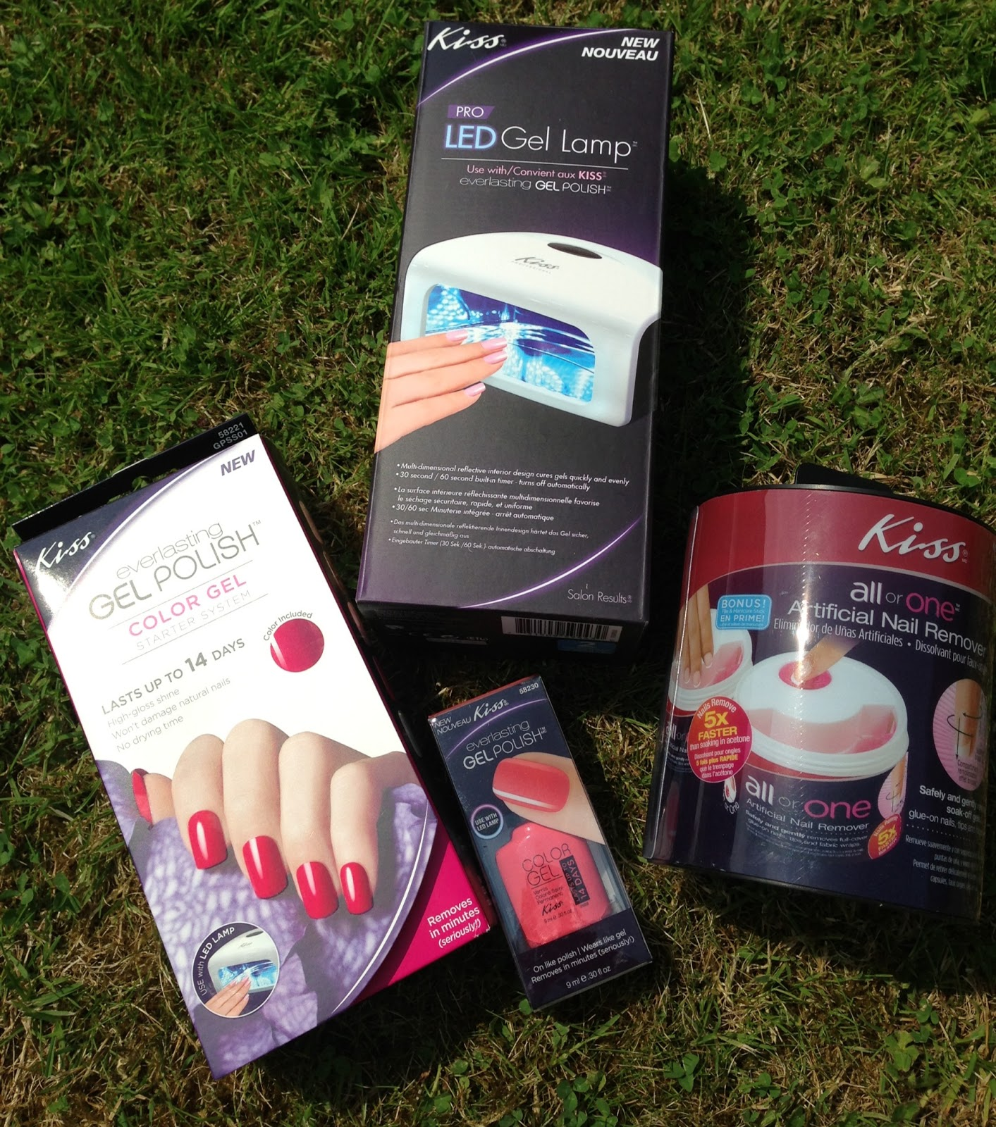 The Beauty Hot Squad: I\'ve been \'Kiss\'-ed - Review of Kiss gel ...