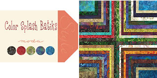 Moda COLOR SPLASH BATIKS Quilt Fabric by Moda Fabrics