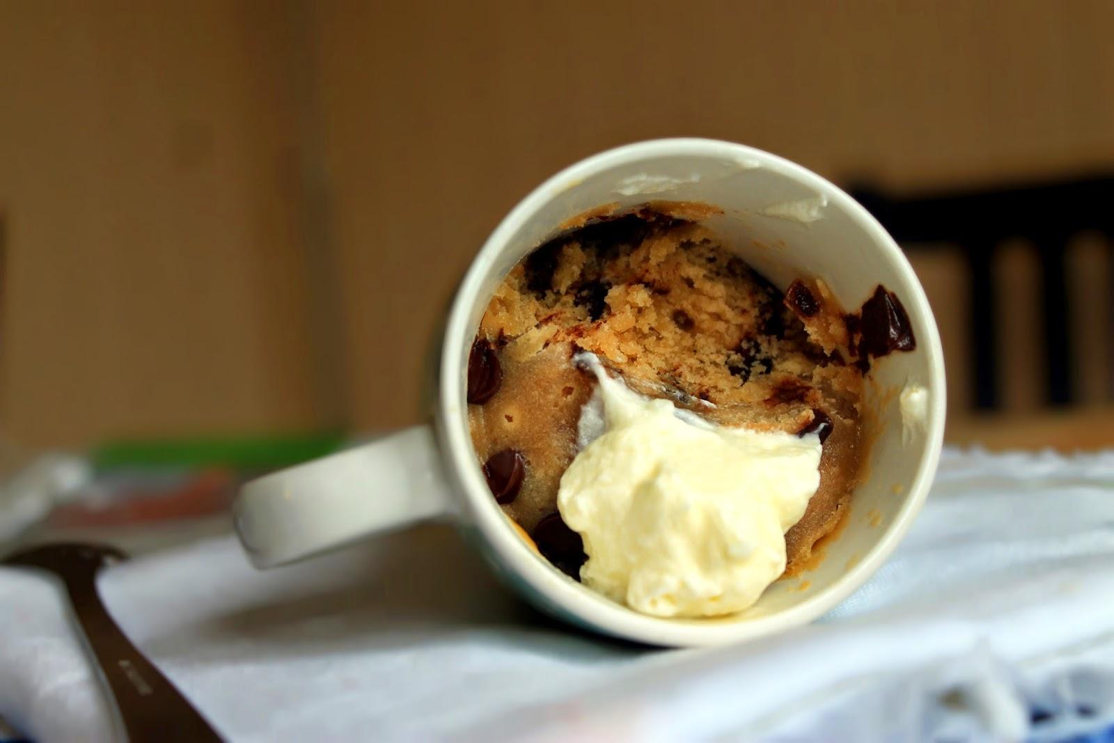 Mug Chocolate Chip Cookie (galleta En Taza. En Cinco Minutos. En El Microondas)