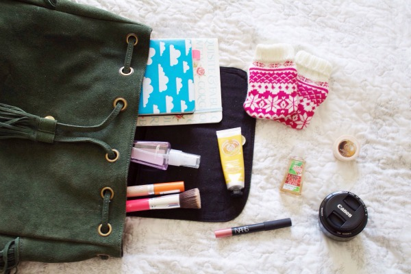 Winter handbag essentials