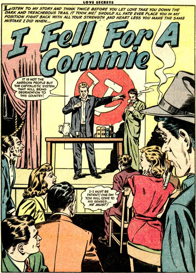I fell for a commie - Sam Citron - Dick Beck - Quality Comics