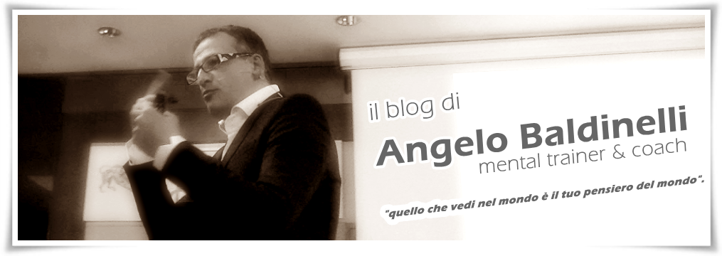Angelo Baldinelli - Mental Trainer and Coach