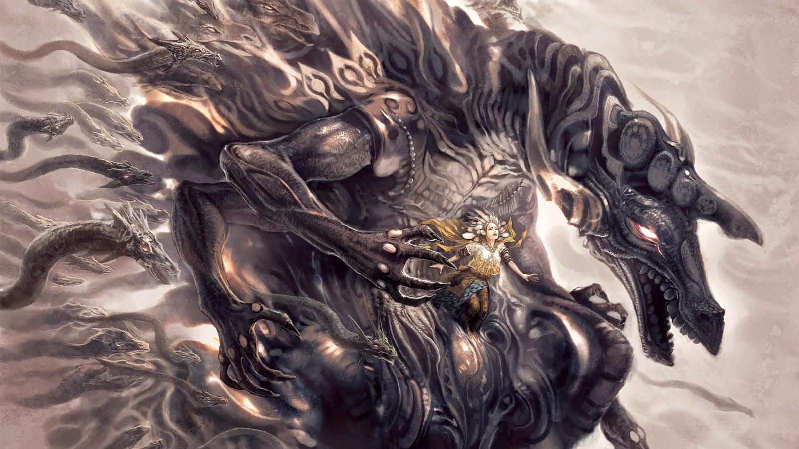 Dragones guerreros y fieles