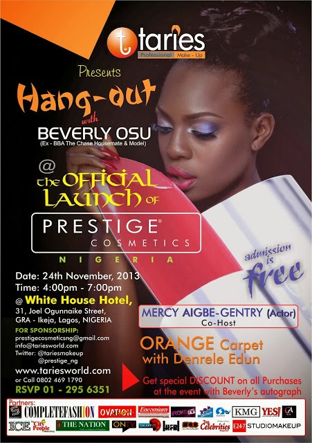 Hang-out With Beverly Osu.