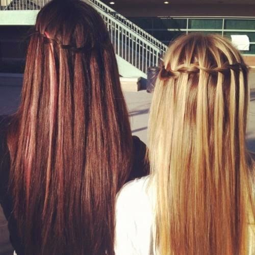 Black and Blonde Hair Designs for Long Hair 2014 - Hair Designs for Long Hair