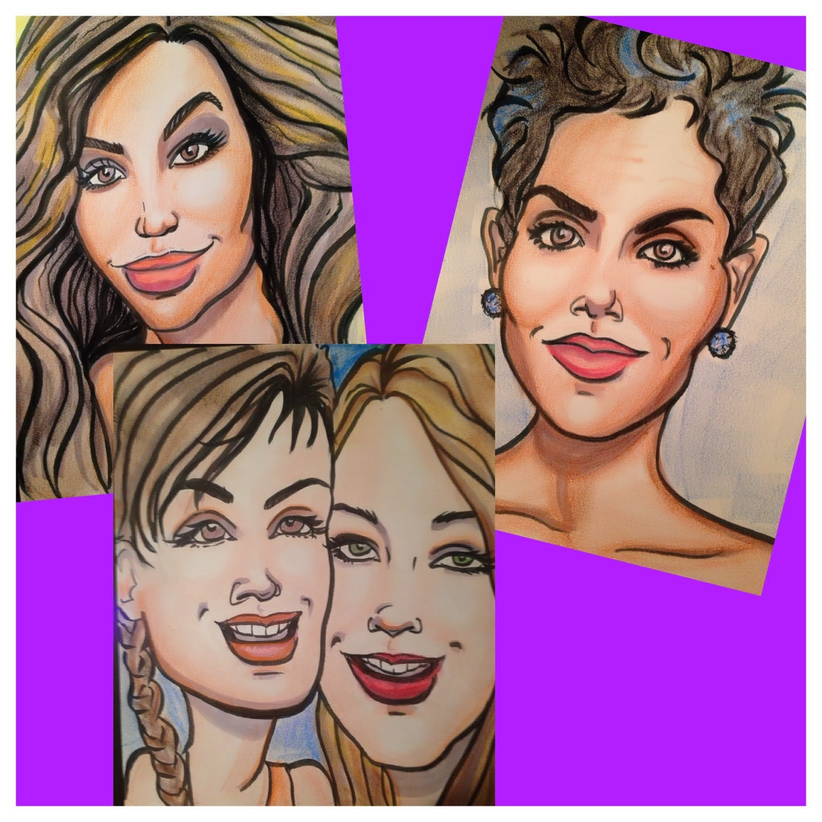 CONNECT with us on FACEBOOK! Click the picture below. www.facebook.com/caricaturesbycolleen.com