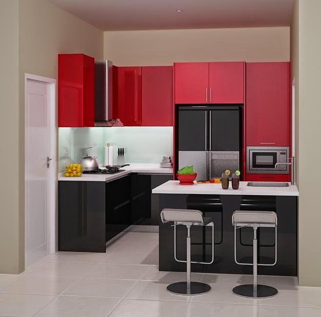 Kitchen Set Surabaya: Kitchen Set Minimalis Modern Bandung