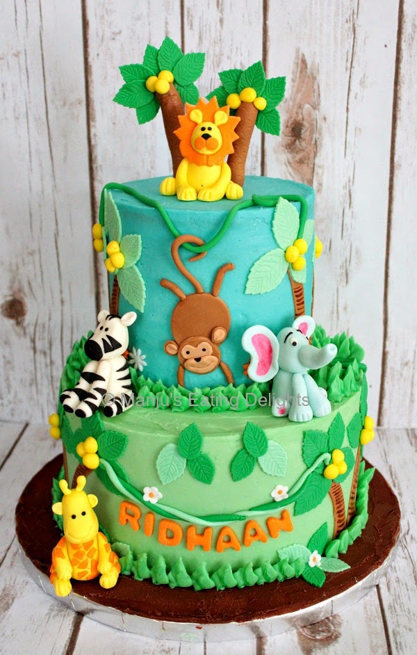 Jungle Birthday Cake Images : Manju s Eating Delights: Cakes!!