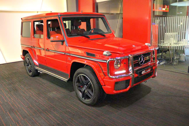 g63 amg red