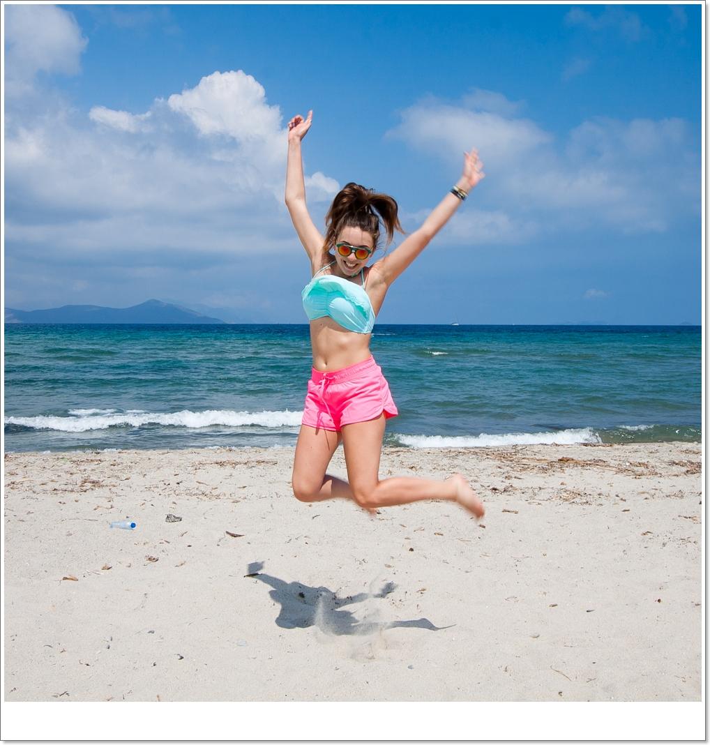 piaszczyste plaże na Kos (w kierunku Tigaki)