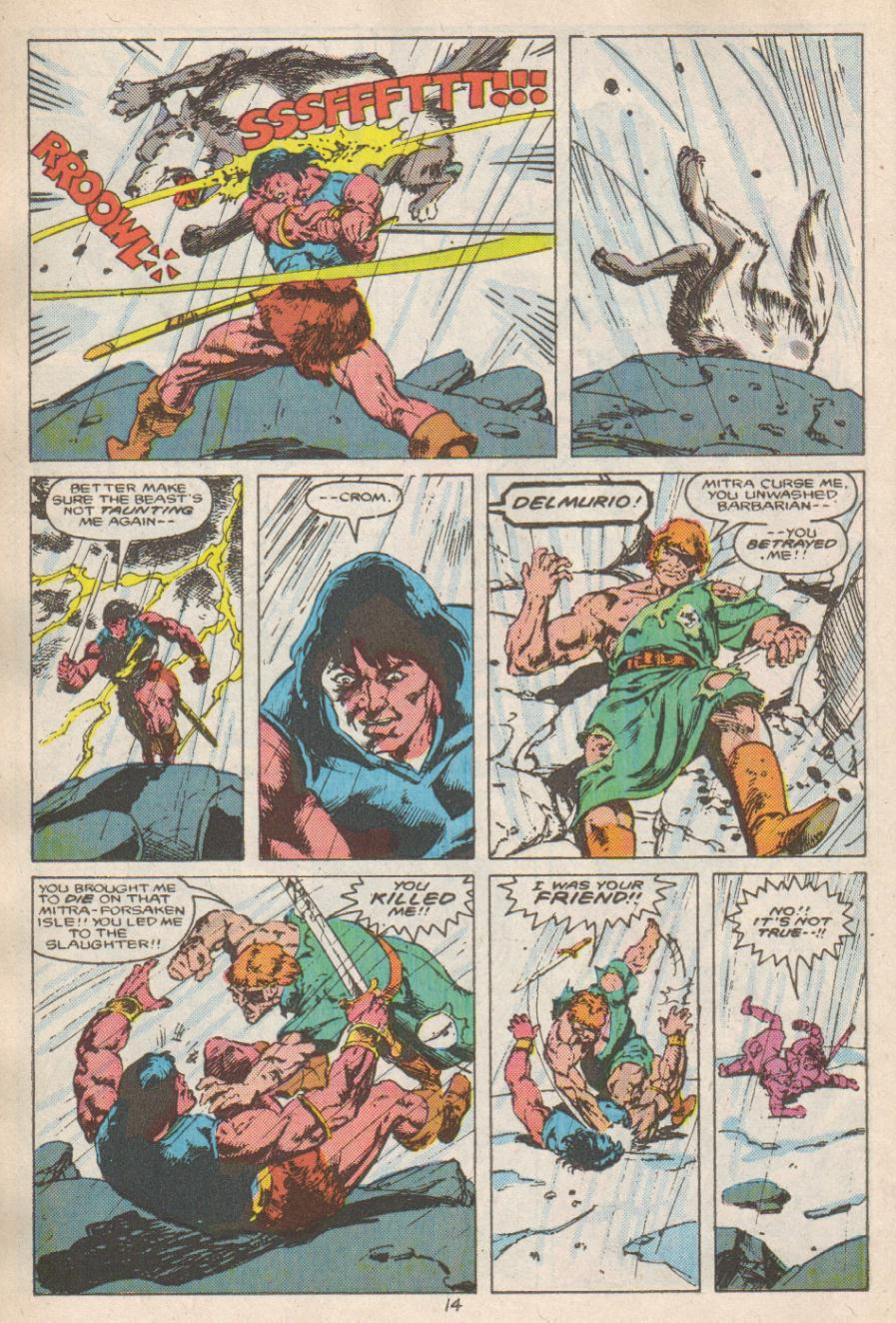 Conan the Barbarian (1970) Issue #192 #204 - English 15