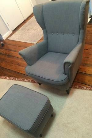 Popular Sofa Chair with Ottoman Back Bay South End http boston craigslist org gbs fuo html