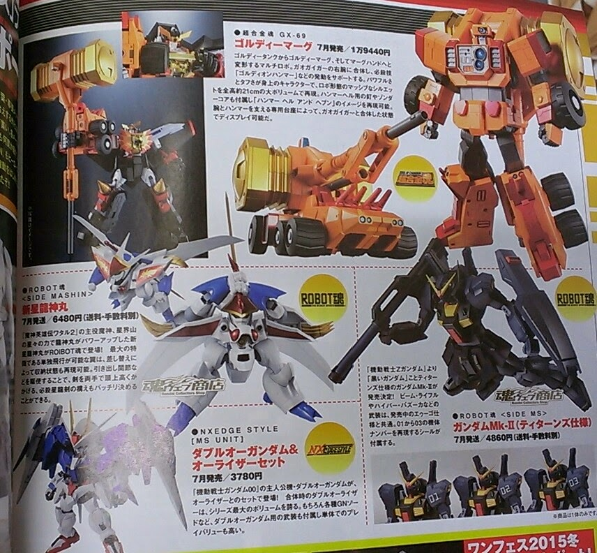 Soul of Chogokin Goldymarg confirmed news