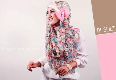 Cara Memakai Jilbab Pashmina Modis Terbaru Simple Modern