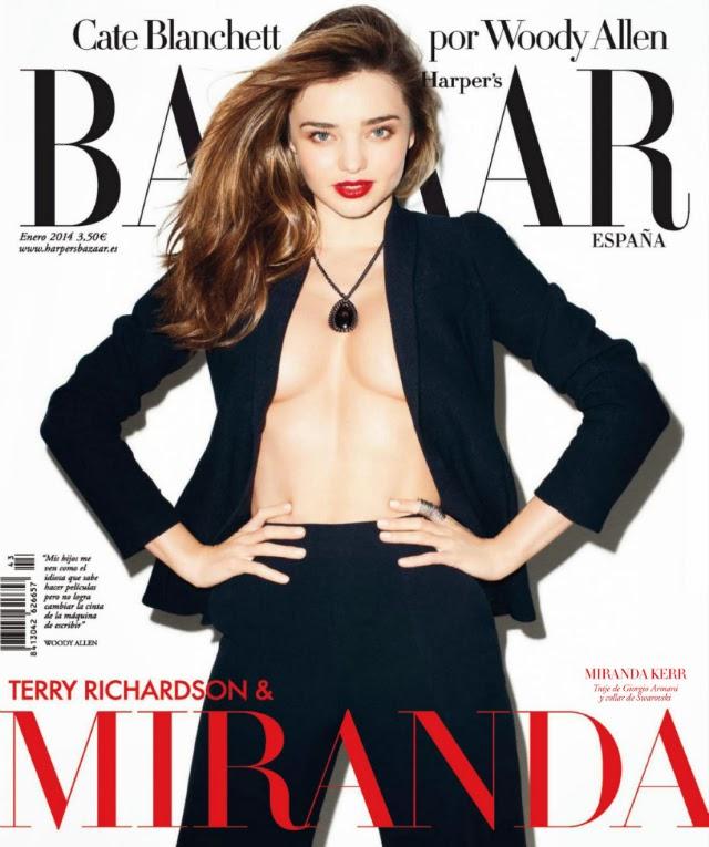 Imágenes de Miranda Kerr en Harper's Bazaar
