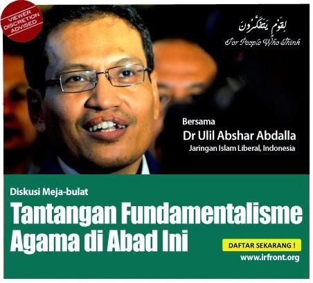 Zahid Hamidi Tokoh Islam liberal Indonesia DILARANG MASUK APA KOMEN DATUK SAIFUDDIN ABDULLAH