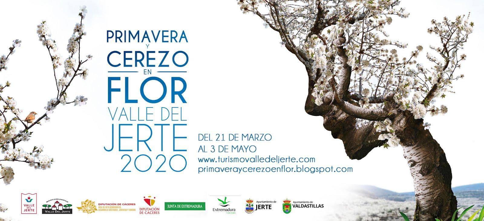 Cerezo en Flor Valle del Jerte. PROGRAMA OFICIAL 2020