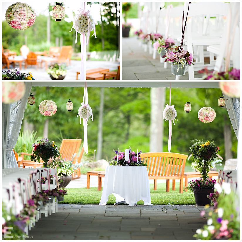 White rose weddings celebrations events daytime to for Outdoor wedding decorating ideas