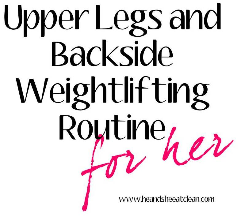 sunday shred    upper legs  u0026 backside routine for her