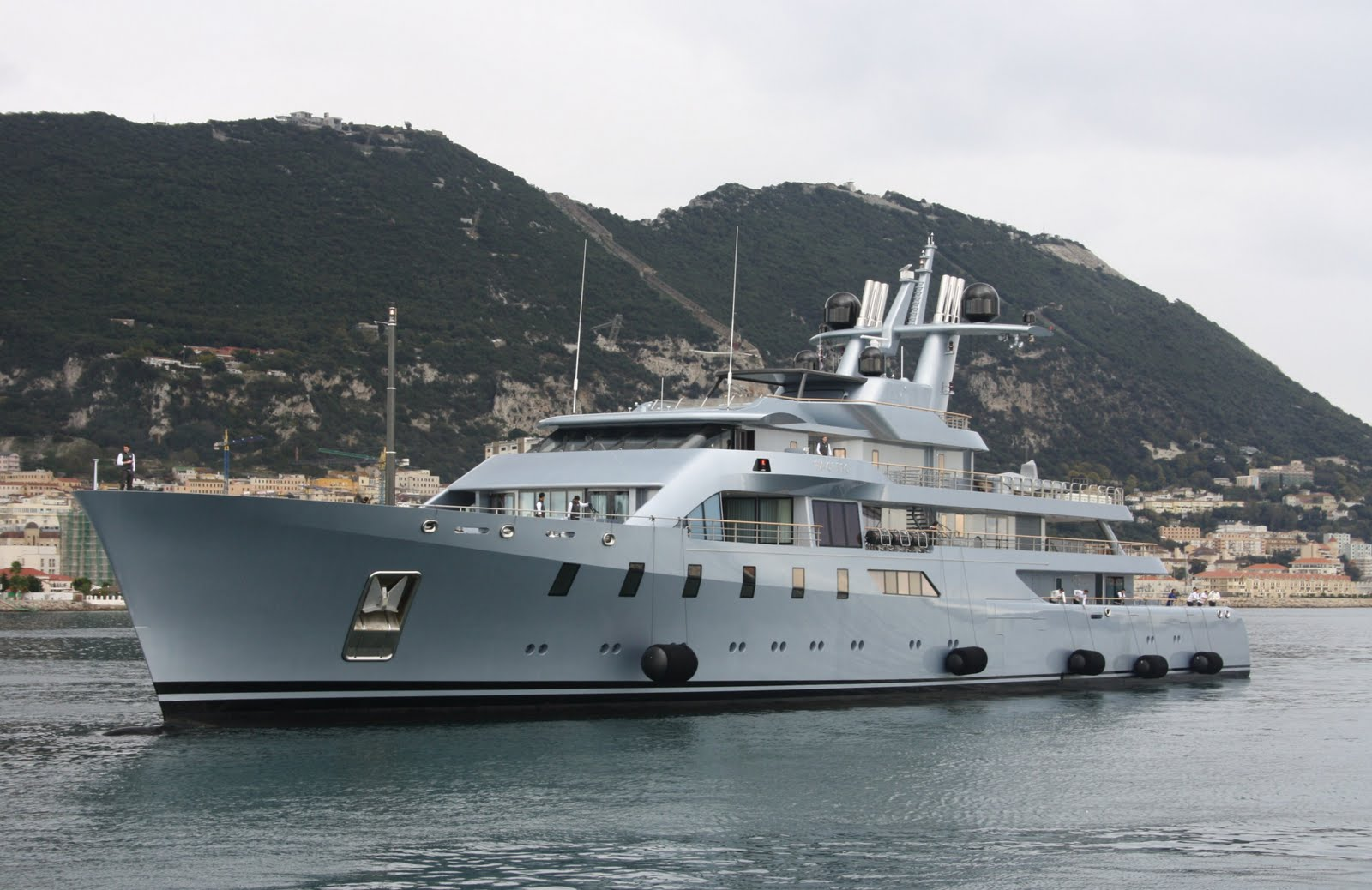 Superyacht PACIFIC Port Side