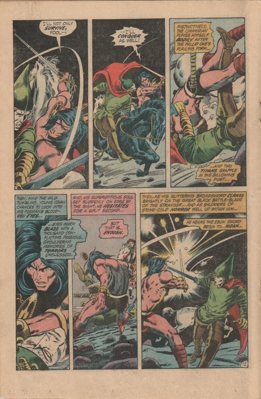 Conan the Barbarian (1970) Issue #14 #26 - English 13