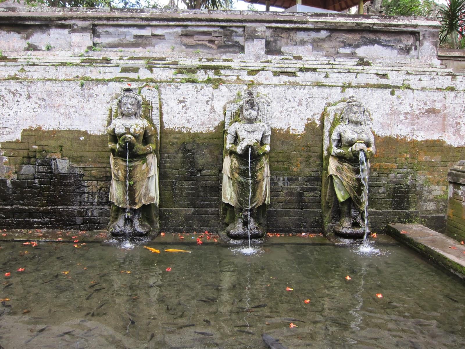 【峇里島自由行】Bali 慶生之旅D2 (上) -象洞/聖泉寺/Tegallalang/ I Made Joni。造訪烏布古蹟遺址