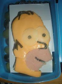 Homer Simpson Sandwich