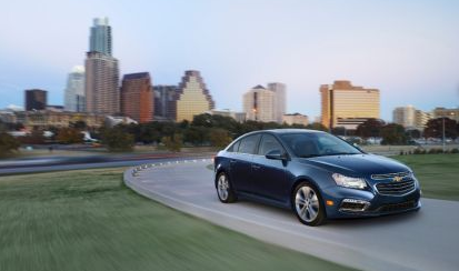 Chevrolet Cruze is the 2014 Fleet Car of the Year